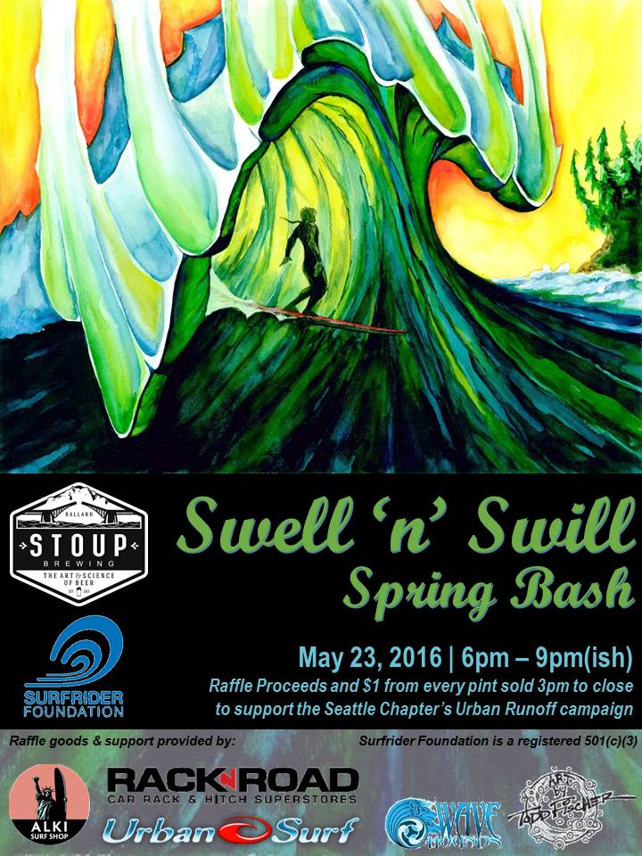 Seattle Swell n Swill Poster